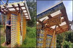 Too cool! Alaska Outhouse!