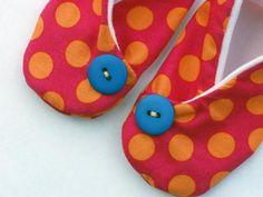 (9) Name: 'Sewing : Kimono Baby Shoe in 3 Sizes