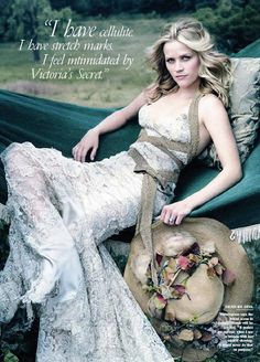 Reese Whiterspoon by Annie Leibovitz for Vanity Fair [2007]
