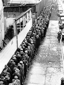 Bread Lines during the Depression