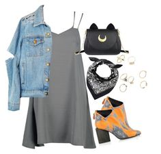 """""""Untitled #1810"""" by itsmeischoice on Polyvore featuring Boohoo, Kim Kwang and Usagi"""