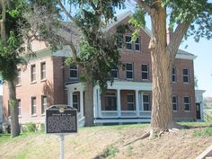 officers quarters at Fort Robinson.