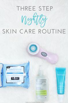 Three Step Nightly Skin Care Routine #bestlovedbeauty #ad