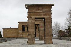 Templo Egipcio de Debod en Madrid (España)