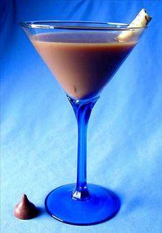 Milky Way Martini  8 ounces vanilla vodka  8 ounces godive chocolate-flavored liqueur  4 ounces Baileys Irish Cream