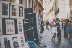 Engagement session in Rome - Mark Pacura Photography