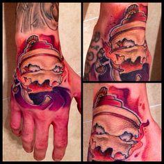 una manita muy buena artista alejandro_monea de mgr tattoo
