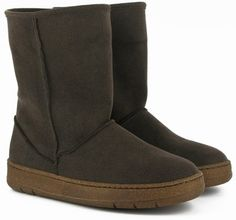 Snug boots (marron)