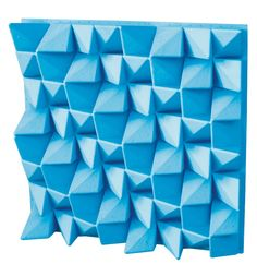 Jocavi Coralreef The Coralreef is a 3D diffuser acoustic treatment panel with controlled dispersion. It is made of high-density EPS and its finishing membrane gives its intended acoustic qualities. Its angular appearance adds dynamism to any room, due to its decorative effect and attractive combinations. This acoustic panel is applied to walls and ceilings. Acoustics & Design
