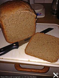 Weizenvollkornbrot aus dem Brotbackautomaten