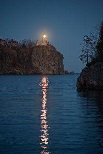 Romantic North Shore of Lake Superior.