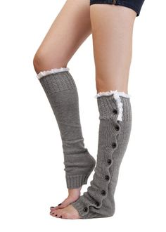 Retail leg warmers for women Button Down Boot Cuffs lace trim gaiters Boot Socks Crochet Leg Warmers Knit Leg Warmers-in Leg Warmers from Apparel & Accessories on Aliexpress.com