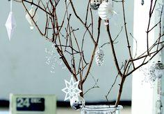 Weihnachtsbaumschmuck: filigran und reduziert - Weihnachtsbaumschmuck 16 - [LIVING AT HOME]