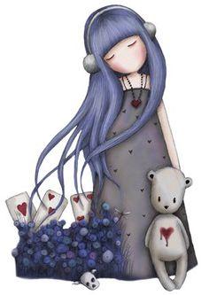 .♥...☆...❤...☆...♥ Gorjuss as de corazones