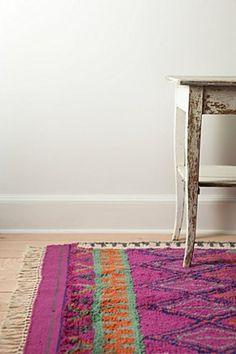 aztec purple rug