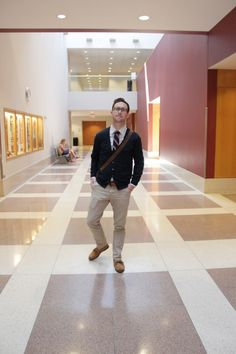 The Style Blogger - Back to Campus with Style, featuring Alex Wilson | TSBmen