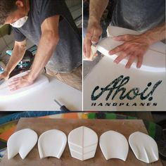 Ahoi! Handplanes available at Ahoi! Surfcrafts