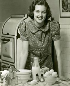 Cooking c.1930s