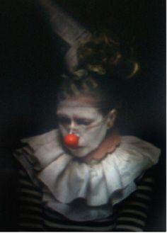 Send in the clowns, Jamie Ridler. Circus Costume, Circus Clown, Clown Photos, Pierrot Clown, Dark Circus, The Ghostbusters, Send In The Clowns, Clowning Around, Night Circus