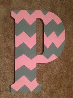 Decorative Wooden Letter on Etsy, $20.00
