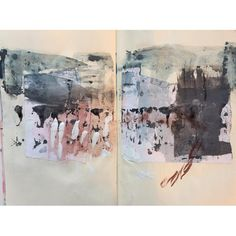 """1,218 Likes, 16 Comments - @janecornwell on Instagram: """"#sketchbook #collage #markmaking"""""""