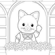 Billedresultat For Sylvanian Families Coloring Pages See More From Pinterest A La Fenetre