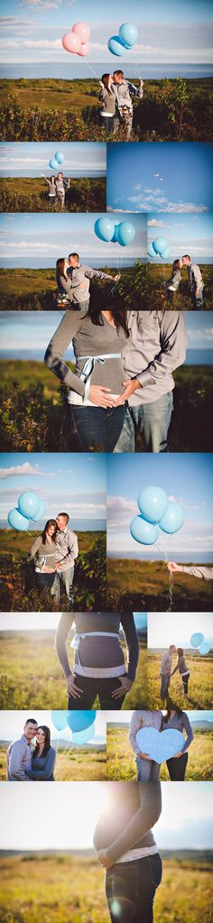 gender reveal, should have added the balloons with the blue ribbon today didn't see this exact one.