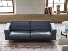 GURIAN / 2 seater leather sofa DO