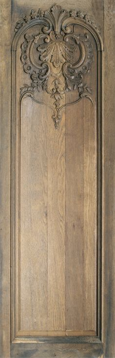 Kodry panelling In its original condition, W. 34.5 x H. 110 cm approx. - Koziel