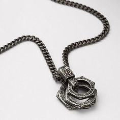 DIESEL® Jewelry New Arrivals:Men Hardware Necklace DXM0590
