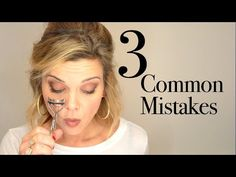3 Common mistakes - Hooded eyes, do's and don'ts - YouTube