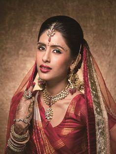 The Demure Gujarati Bride  #BeautifulBrides