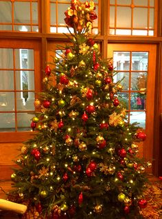 White House East Wing Reception Room Christmas Tree #WHSocial