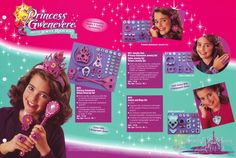 1996 Hasbro Pre-Toy Fair Catalog ✨Princess Gwenevere and the Jewel Riders✨ Jewelry Page    #kenner #toyfair #1996 #girlstoys #jewelry #jewelryset #dressup