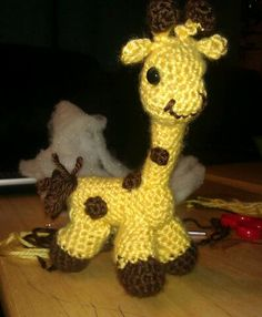 My Amigurumi Giraffe ! Super Easy to make and adorable ! Great baby gifts!