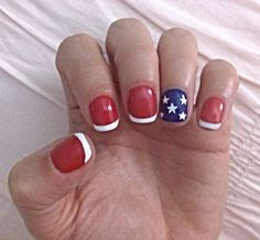 Fourth of July nails (4th of July nails)