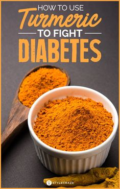 How To Use Turmeric For Diabetes. In this post, we talk about everything you possibly need to know about turmeric and turmeric for diabetes can be helpful. Keep reading. #health #wellness #diabetes