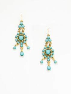 Ben Amun - turquoise earrings