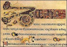 The Book of Kells, ca. 800 c.e.