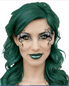 Makup Ideas - Poison Ivy....I love the eyes :-)