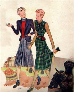 The 1930s-1938 Marie-Claire-Winter fashion | Flickr - Photo Sharing!