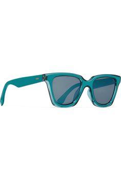FENDI Square-frame acetate sunglasses Heart Glasses, Oversized Glasses,  Sunglass Frames, Fendi adad10eef203