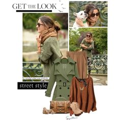 Farb-und Stilberatung mit www.farben-reich.com - Meadow green trench, True Autumn colors. - Polyvore