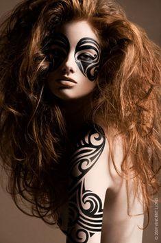 Maori makeup
