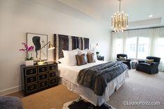 Bedroom by Sally Wheat via La Dolce Vita Blog