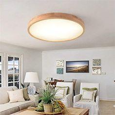 KAMELA LED Feste Holz Lampe Runde Einfache Mode Balkon Korridor Lampe  Wohnzimmer Lampe LED Lampe