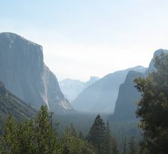 Tunnel View, Yosemite Park very humbling experience