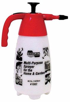 Chapin 1002 Hand Sprayer For Multi-purpose Use: Chapin hand held plastic spray holds 48 ounces and comes with a poly adjustable nozzle. Spray in a fine mist or adjust to coarse stream. Best Pest Control, Pest Control Services, Bug Control, Homemade Insecticide, Humming Bird Feeders, Garden Guide, Garden Pests, Garden Hose, Seed Starting