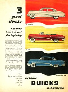 Early 50s Buick ad