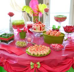 strawberry shortcake party ideas